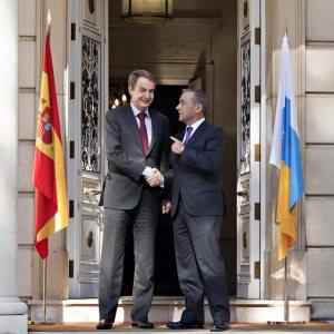 Reunión con Zapatero