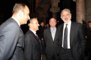 Con empresarios catalanes
