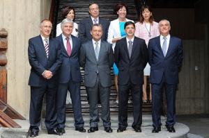 Foto de familia del Gobierno
