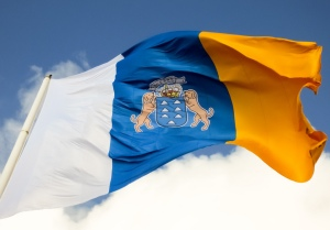 Bandera de la Comunidad Autónoma de Canarias
