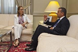 Reunión con Ana Pastor