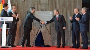 Inauguración de la Ciudad de la Justicia de LPGC