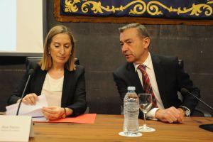 Con la ministra Ana Pastor