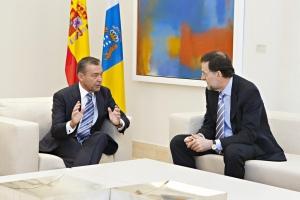 Reunión con Rajoy