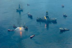 Accidente en el Golfo de México