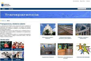 Portal de transparencia del Gobierno de Canarias