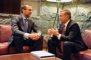 Reunión con el embajador de EEUU