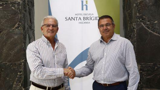 Los maximos responsables del Granca y del Canarias ayudan a la buena sintonía de las aficiones