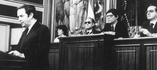 Debate de investidura de Jerónimo Saavedra en 1983