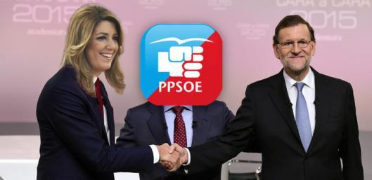 Rajoy y Susana Díaz se en tienden...al menos por ahora.